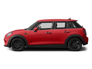 Chili Red 2016 MINI Cooper Hardtop 4 Door Pictures Cooper Hardtop 4 Door Wagon 4D I3 Turbo photos side view