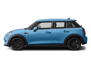 Electric Blue Metallic 2016 MINI Cooper Hardtop 4 Door Pictures Cooper Hardtop 4 Door Wagon 4D I3 Turbo photos side view