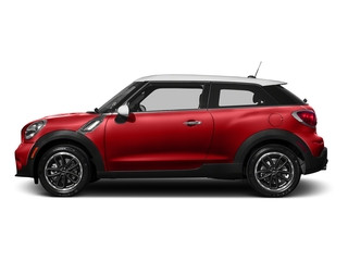 Chili Red 2016 MINI Cooper Paceman Pictures Cooper Paceman Coupe 2D Paceman JCW AWD I4 Turbo photos side view