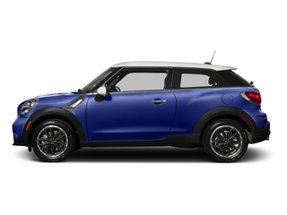 Starlight Blue Metallic 2016 MINI Cooper Paceman Pictures Cooper Paceman Coupe 2D Paceman JCW AWD I4 Turbo photos side view