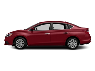 Cayenne Red Pearl Metallic 2016 Nissan Sentra Pictures Sentra Sedan 4D SV I4 photos side view