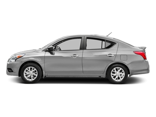 Brilliant Silver 2016 Nissan Versa Pictures Versa Sedan 4D S I4 photos side view