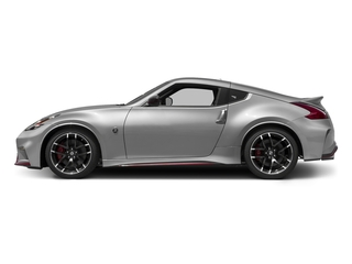 Brilliant Silver 2016 Nissan 370Z Pictures 370Z Coupe 2D NISMO V6 photos side view