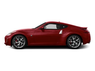 Solid Red 2016 Nissan 370Z Pictures 370Z Coupe 2D V6 photos side view