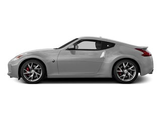Brilliant Silver 2016 Nissan 370Z Pictures 370Z Coupe 2D V6 photos side view