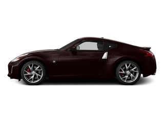Black Cherry 2016 Nissan 370Z Pictures 370Z Coupe 2D V6 photos side view