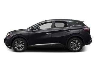 Magnetic Black Metallic 2016 Nissan Murano Pictures Murano Utility 4D S 2WD V6 photos side view