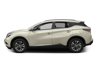 Pearl White 2016 Nissan Murano Pictures Murano Utility 4D S AWD V6 photos side view