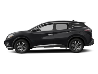 Magnetic Black Metallic 2016 Nissan Murano Pictures Murano Utility 4D SL 2WD I4 Hybrid photos side view