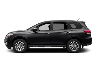 Magnetic Black Metallic 2016 Nissan Pathfinder Pictures Pathfinder Utility 4D SV 2WD V6 photos side view