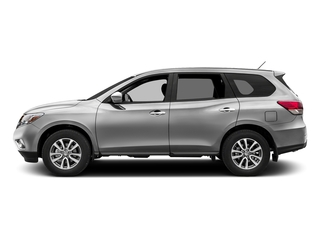 Brilliant Silver Metallic 2016 Nissan Pathfinder Pictures Pathfinder Utility 4D SV 2WD V6 photos side view