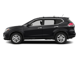 Magnetic Black 2016 Nissan Rogue Pictures Rogue Utility 4D SV AWD I4 photos side view