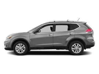 Brilliant Silver 2016 Nissan Rogue Pictures Rogue Utility 4D SV AWD I4 photos side view