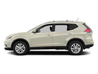 Pearl White 2016 Nissan Rogue Pictures Rogue Utility 4D SV AWD I4 photos side view