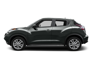 Gun Metallic 2016 Nissan JUKE Pictures JUKE Utlity 4D S 2WD I4 Turbo photos side view
