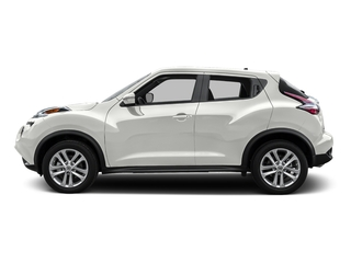 White Pearl 2016 Nissan JUKE Pictures JUKE Utlity 4D S 2WD I4 Turbo photos side view