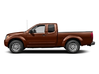 Forged Copper 2016 Nissan Frontier Pictures Frontier King Cab SV 2WD photos side view