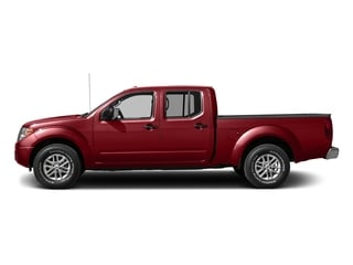 Lava Red 2016 Nissan Frontier Pictures Frontier Crew Cab SV 4WD photos side view