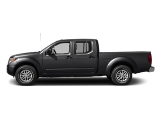 Magnetic Black 2016 Nissan Frontier Pictures Frontier Crew Cab SV 4WD photos side view
