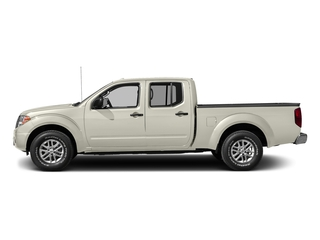 Glacier White 2016 Nissan Frontier Pictures Frontier Crew Cab SV 4WD photos side view