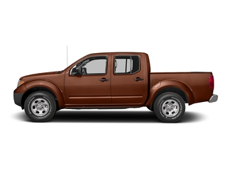 Forged Copper 2016 Nissan Frontier Pictures Frontier Crew Cab S 2WD photos side view