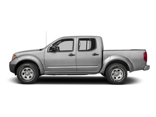 Brilliant Silver 2016 Nissan Frontier Pictures Frontier Crew Cab S 2WD photos side view