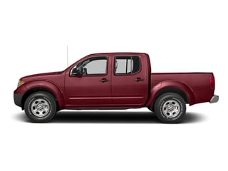 Cayenne Red 2016 Nissan Frontier Pictures Frontier Crew Cab S 2WD photos side view
