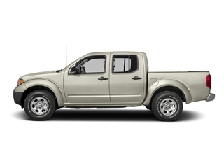 Glacier White 2016 Nissan Frontier Pictures Frontier Crew Cab S 2WD photos side view