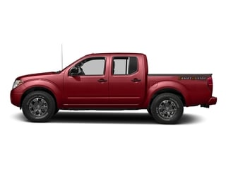Lava Red 2016 Nissan Frontier Pictures Frontier Crew Cab Desert Runner 2WD photos side view