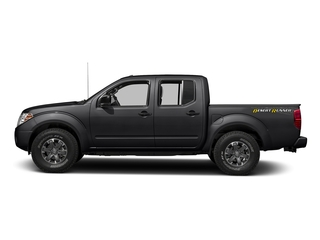 Magnetic Black 2016 Nissan Frontier Pictures Frontier Crew Cab Desert Runner 2WD photos side view