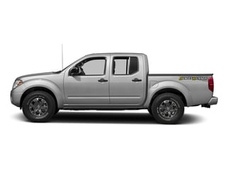 Brilliant Silver 2016 Nissan Frontier Pictures Frontier Crew Cab Desert Runner 2WD photos side view