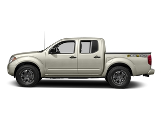 Glacier White 2016 Nissan Frontier Pictures Frontier Crew Cab Desert Runner 2WD photos side view