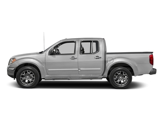 Brilliant Silver 2016 Nissan Frontier Pictures Frontier Crew Cab SL 4WD photos side view