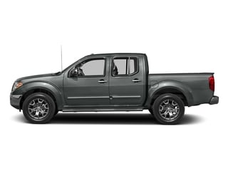Gun Metallic 2016 Nissan Frontier Pictures Frontier Crew Cab SL 4WD photos side view