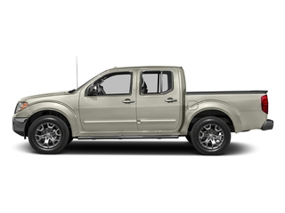 Glacier White 2016 Nissan Frontier Pictures Frontier Crew Cab SL 2WD photos side view