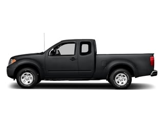 Magnetic Black 2016 Nissan Frontier Pictures Frontier King Cab S 2WD photos side view