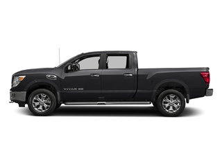 Magnetic Black 2016 Nissan Titan XD Pictures Titan XD Crew Cab SV 2WD V8 photos side view