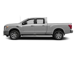 Brilliant Silver 2016 Nissan Titan XD Pictures Titan XD Crew Cab SV 2WD V8 photos side view