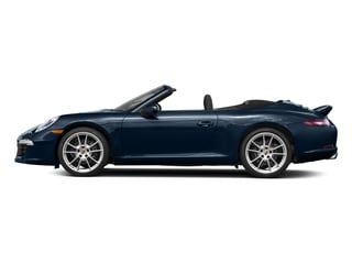 Dark Blue Metallic 2016 Porsche 911 Pictures 911 Cabriolet 2D GTS H6 photos side view