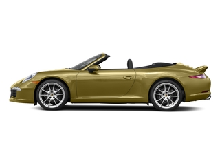 Lime Gold Metallic 2016 Porsche 911 Pictures 911 Cabriolet 2D GTS H6 photos side view