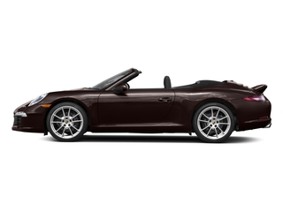 Mahogany Metallic 2016 Porsche 911 Pictures 911 Cabriolet 2D GTS H6 photos side view