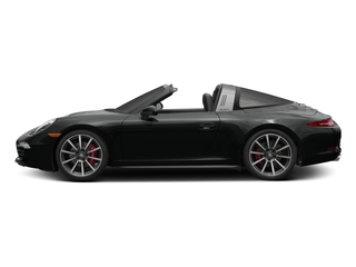 Jet Black Metallic 2016 Porsche 911 Pictures 911 Coupe 2D 4S Targa AWD photos side view
