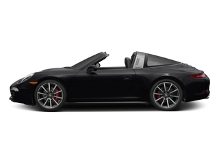 Black 2016 Porsche 911 Pictures 911 Coupe 2D 4S Targa AWD photos side view