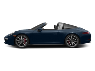Dark Blue Metallic 2016 Porsche 911 Pictures 911 Coupe 2D 4S Targa AWD photos side view
