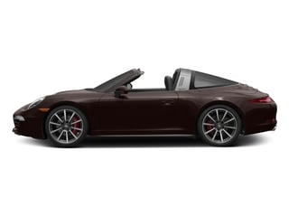 Mahogany Metallic 2016 Porsche 911 Pictures 911 Coupe 2D 4S Targa AWD photos side view