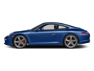 Sapphire Blue Metallic 2016 Porsche 911 Pictures 911 Coupe 2D S H6 photos side view
