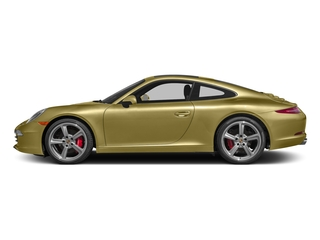 Lime Gold Metallic 2016 Porsche 911 Pictures 911 Coupe 2D S H6 photos side view