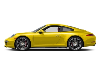 Racing Yellow 2016 Porsche 911 Pictures 911 Coupe 2D 4 GTS AWD H6 photos side view
