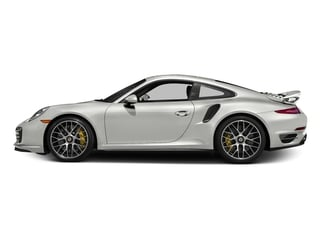 White 2016 Porsche 911 Pictures 911 Coupe 2D Turbo AWD H6 photos side view