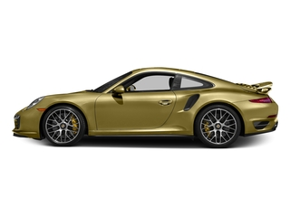 Lime Gold Metallic 2016 Porsche 911 Pictures 911 Coupe 2D Turbo AWD H6 photos side view